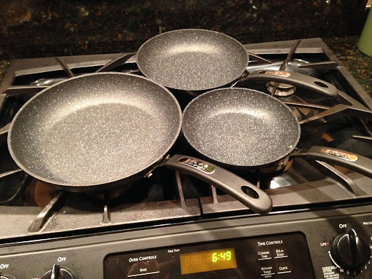 "Tools of the Trade - ""The Rock"" Frying Pans by Starfrit"