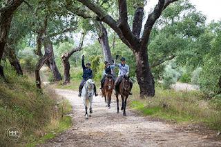 Riitta Kosonen, Riitta Reissaa, Horsexplore, Portugali, ratsastus