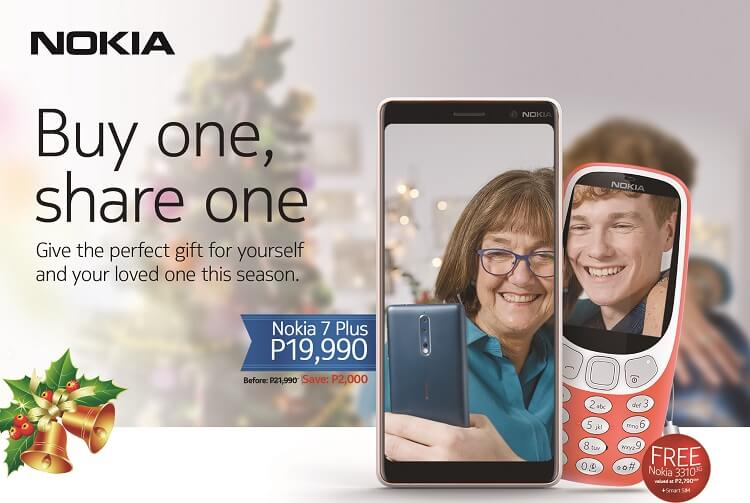 Nokia Offers Buy One, Share One Promo