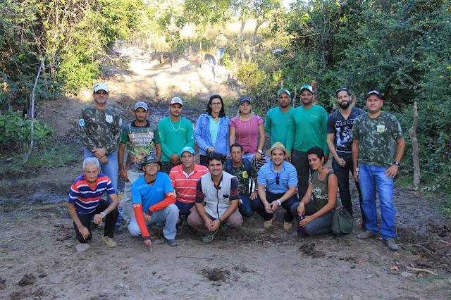 Correntina tem primeira nascente de rio recuperada por projeto dos agricultores do oeste da Bahia