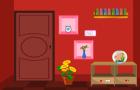 Easy Way Red Room Escape walkthrough