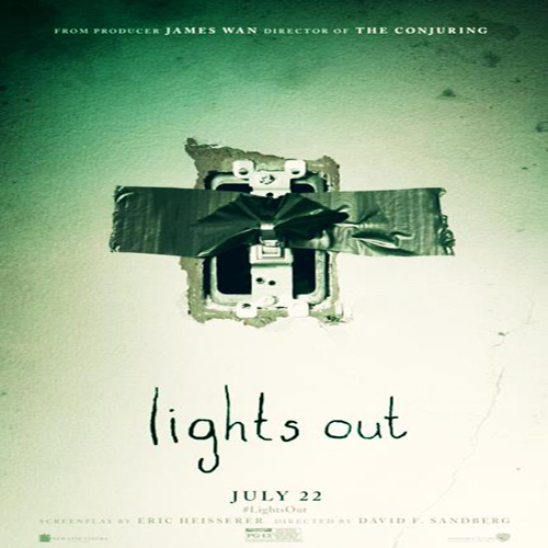 Lights Out Poster Film