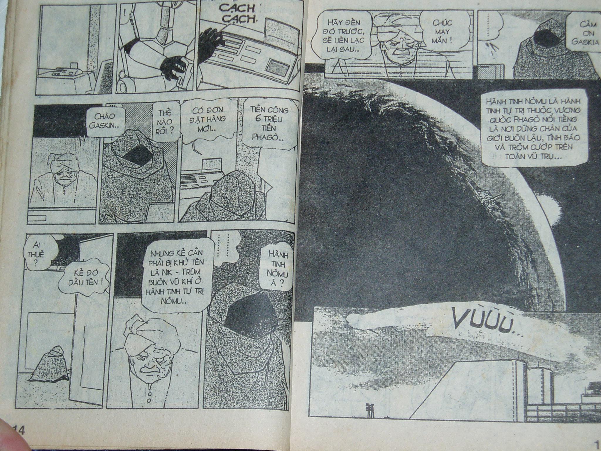 Siêu nhân Locke vol 16 trang 6