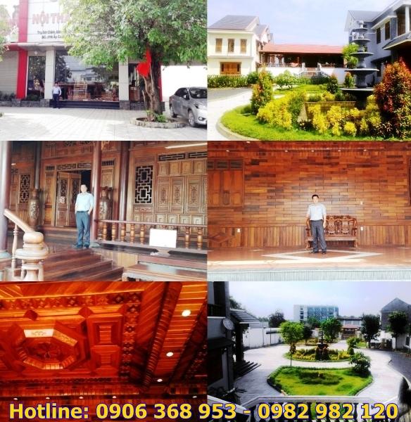 Bán Showroom - Biệt thự - Nhà bằng Gỗ Hương MT QL 1A TT huyện Trảng Bom Đồng Nai
