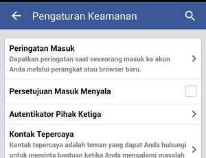 Cara mengamankan Akun Facebook melalui Verifikasi SMS