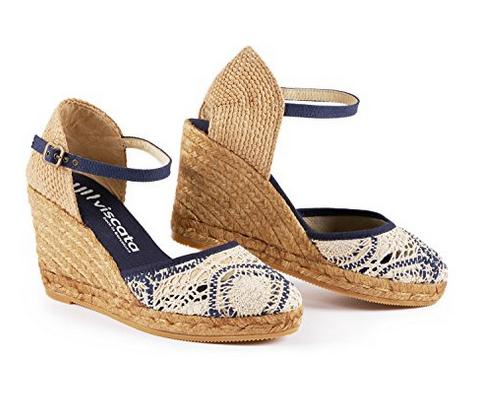 tendances sandales compensées pas cher
