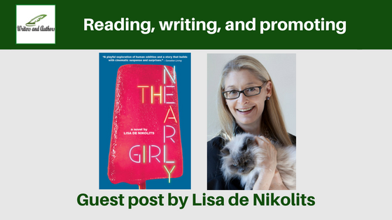 Reading, writing and promoting, guest post by Lisa de Nikolits