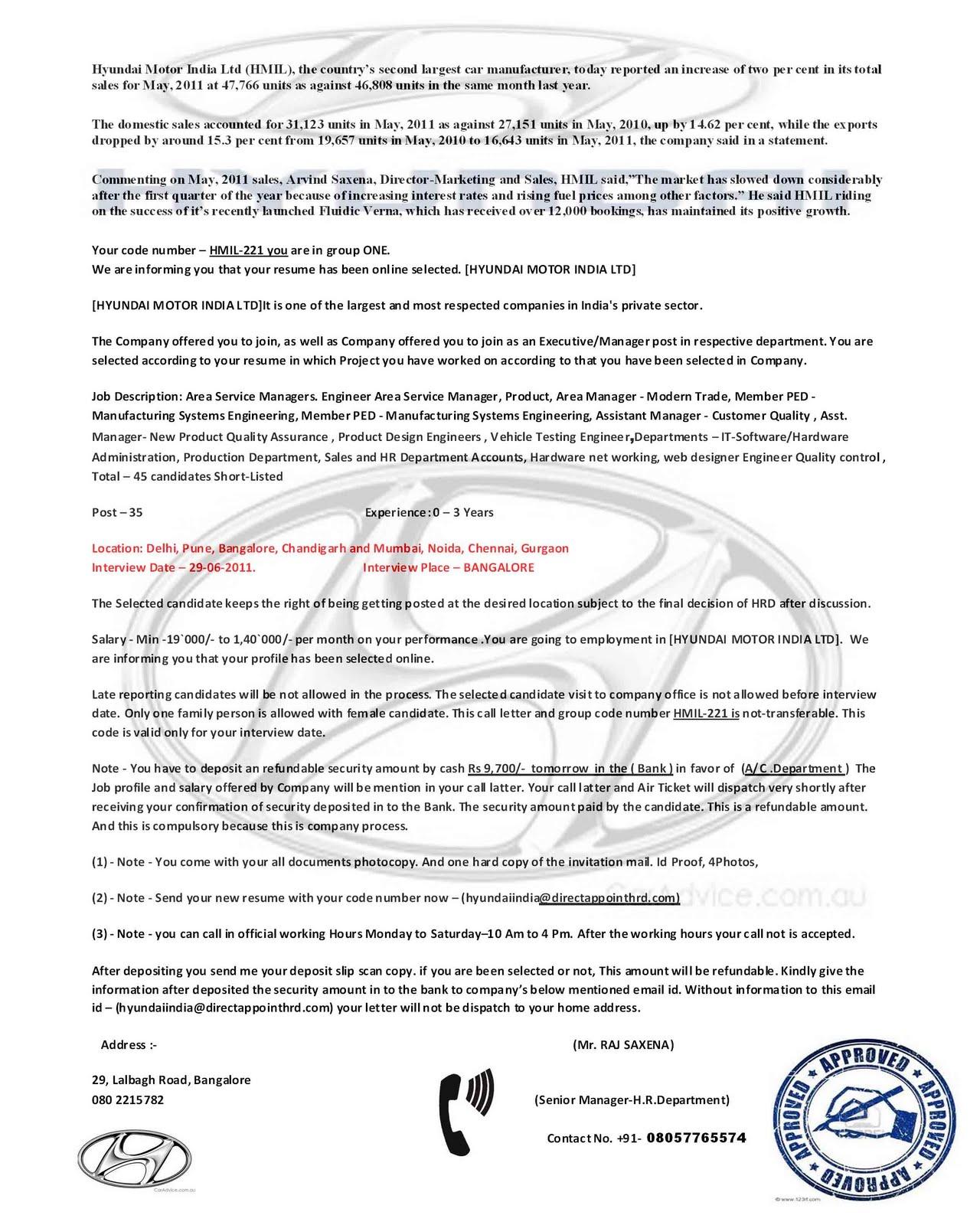 Application Letter For Security Job Platinum Class Limousine Cover