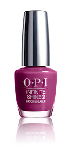 OPI Infinite Shine Spring '16 Don't Provoke the Plum!