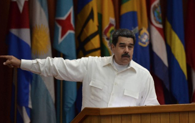Venezuela's president admits economy has failed