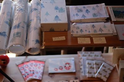 松本市四賀の古民家カフェ KAJIYA(カジヤ)旅する紙