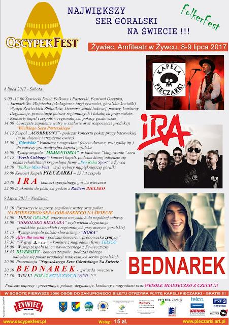 Oscypek Fest Żywiec 8-9.07.2017 Bijemy Kolejny Rekord Giunnessa - Miłośnicy Gór I Podróży Zapraszają  Na Kultową Imprezę. Musicie To Zobaczyć!