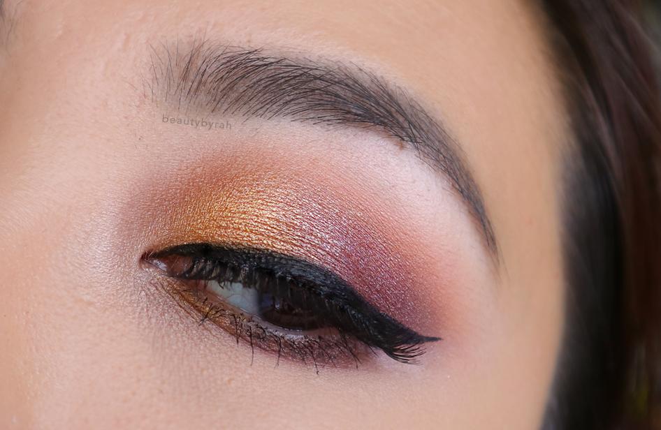 Makeup Tutorial using the Kat Von D Metalmatte Eyeshadow Palette and Lavie Lash Amaryllis