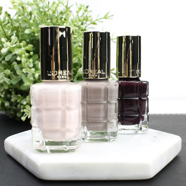L'Oreal Colour Riche Le Vernis A L'Huile Nail Polishes review swatches