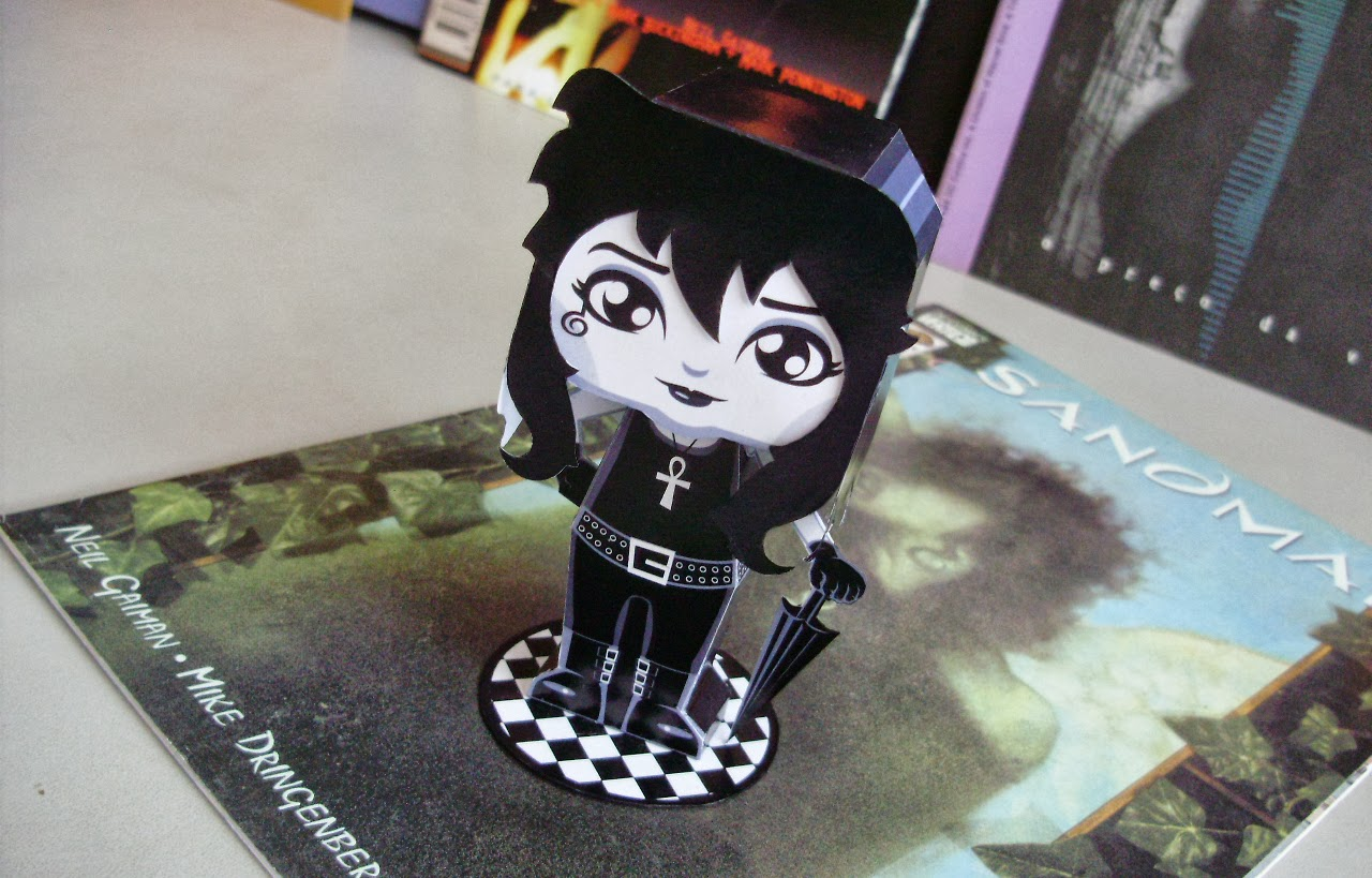 The Sandman Death Papercraft