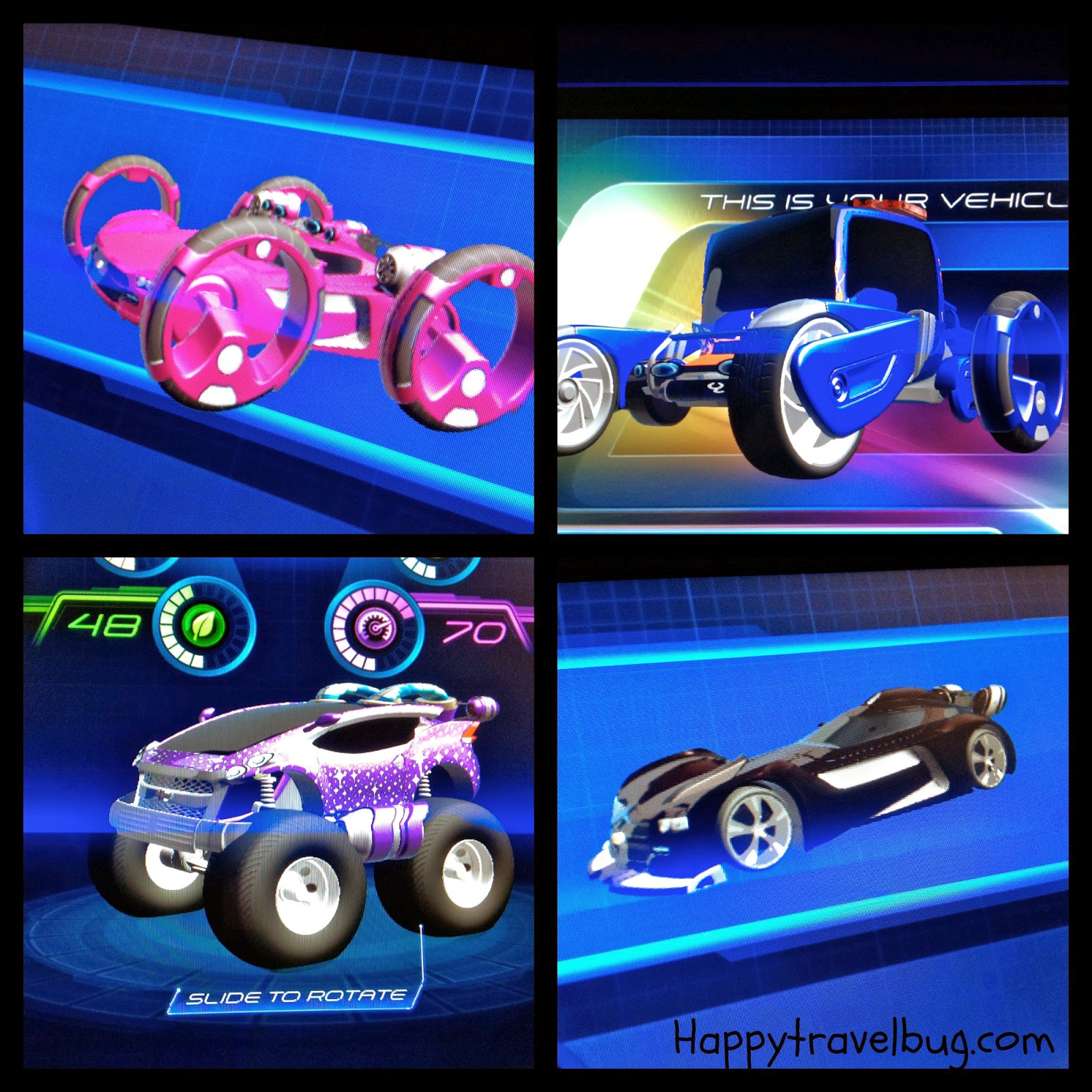 Our Test Track Designed Cars At Epcot In Disney World