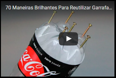 "►""70 Maneiras Brilhantes Para Reutilizar Garrafas Plásticas"""