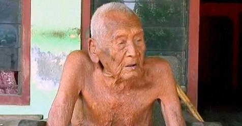 Mbah Gotho Menjadi Kakek Tertua Di Indonesia Berusia 146 Tahun, Ini Yang Diinginkannya Sekarang