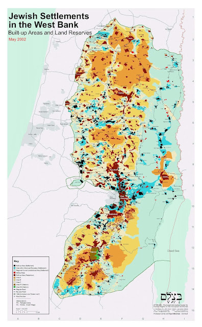 Trump Was Just Asked About Anti-Semitism In The US. His Answer Is Embarassing Settlements_map_eng%2B2002