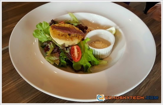 Deconstructed Caesar Salad U-Cafe Wangsa Walk