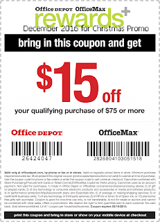 Office Max coupons for december 2016