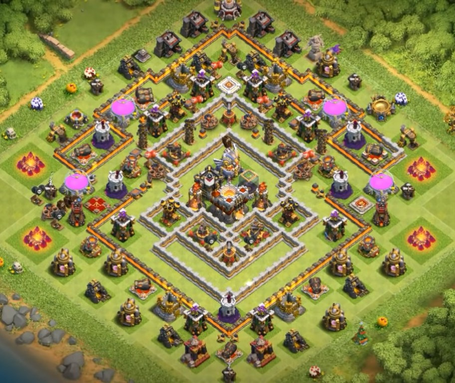gold and elixir protector layout 2019