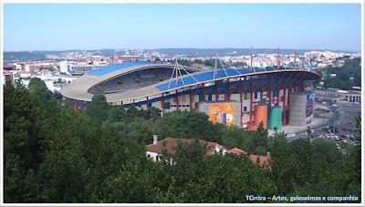 estádio municipal de Leiria; viajando pela Europa; viagem sem guia; turismo em Portugal;