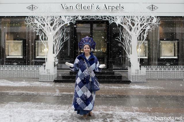 снежная москва фото