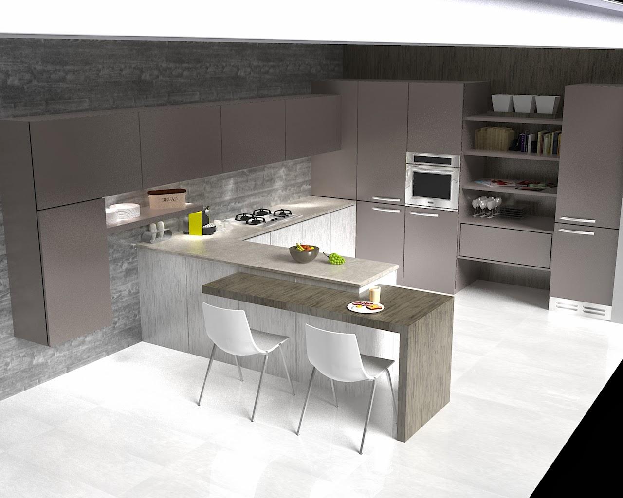 Simo galleria dei vostri lavori cucina for Disegnare cucina 3d online