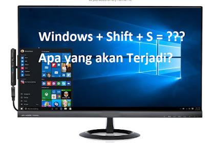 Screenshot di Windows 10 Dengan Mudah Tanpa Software Tambahan