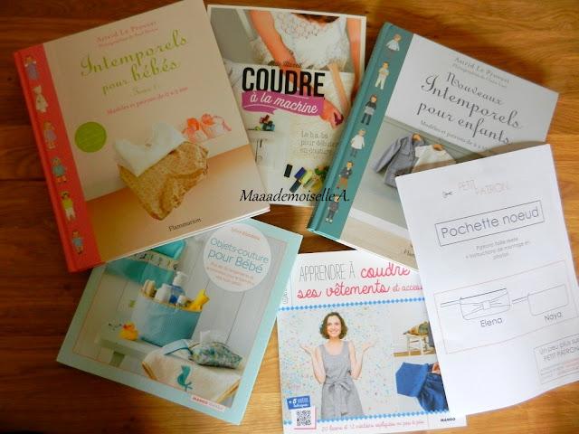 Livres de couture et patrons