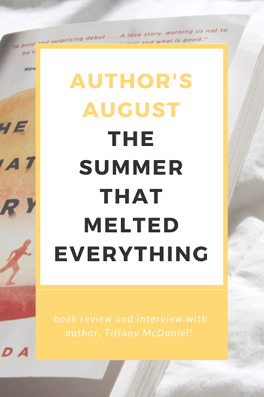 Paper Pizza: The Summer That Melted Everything interview & review (Author's August #3)