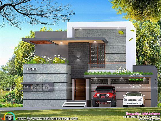 box modern villa arhitecture