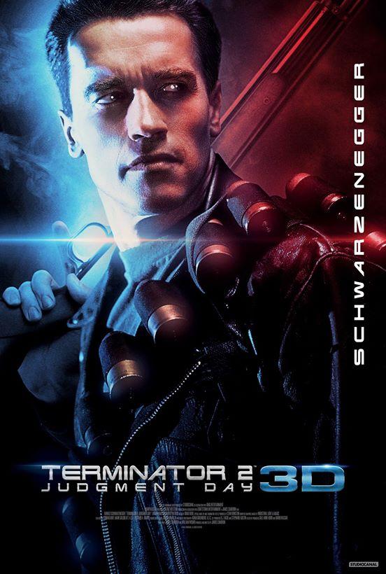 ターミネーター2 3D ポスター