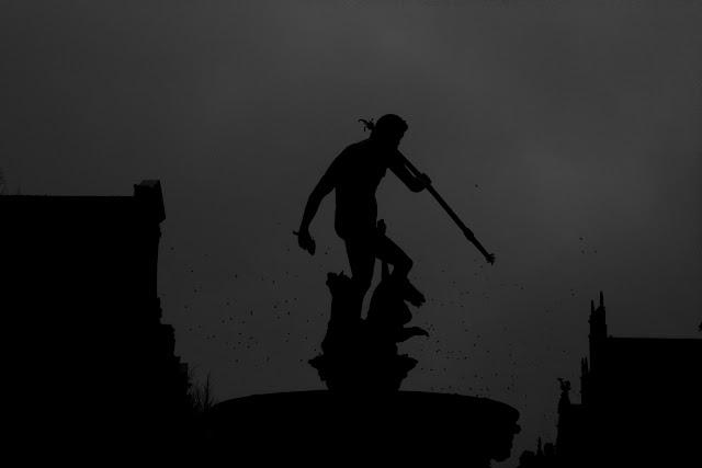 Koncepcyjna fotografia krajobrazu. Gdańsk. Piktorialny obraz miasta. fot. Łukasz Cyrus