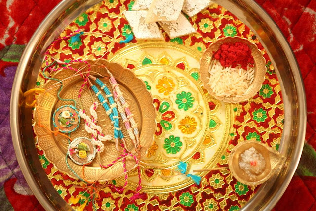 Raksha Bandhan Rakhi Decorated Images