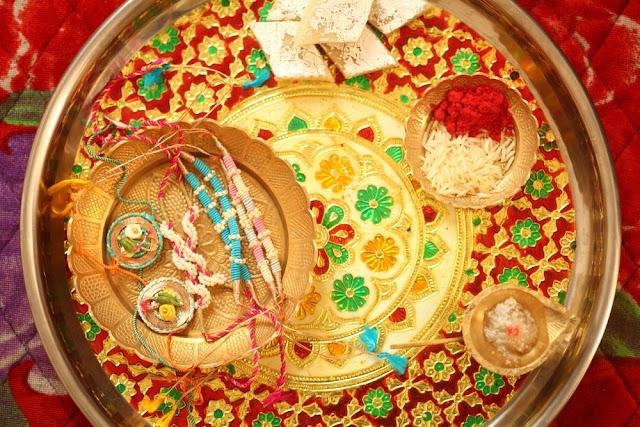Raksha Bandhan Rakhi Decorated Images