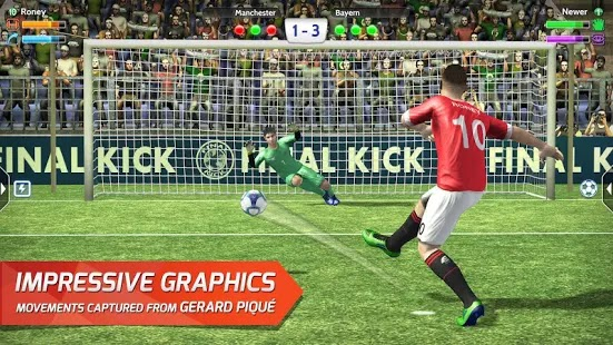 Final kick 2018: Online football Apk + Data for android