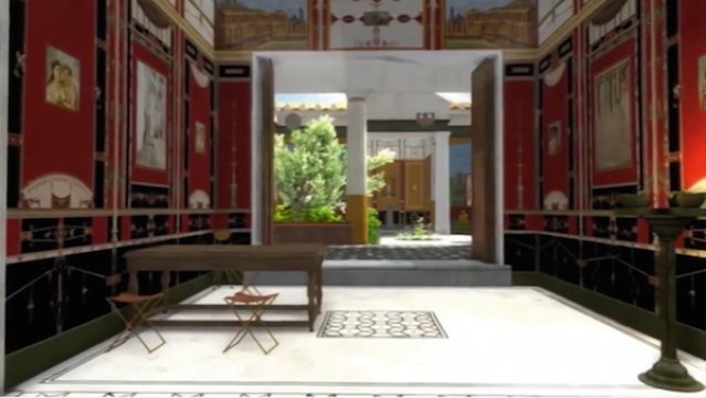 Researchers reconstruct beautiful house in Pompeii by using 3D technology