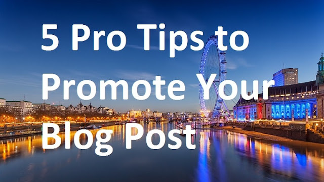 Promote Your Blog Post
