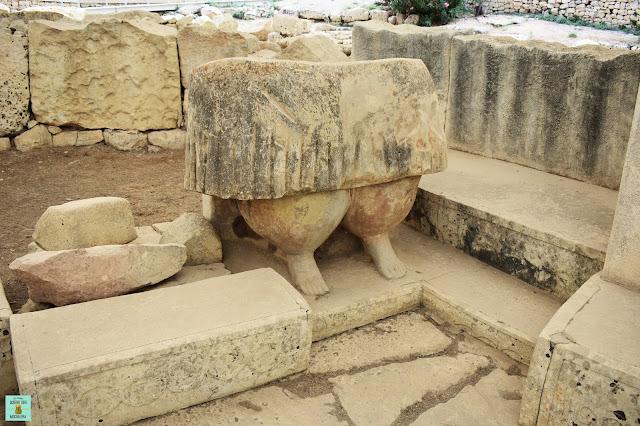 Tarxien Temples en Malta