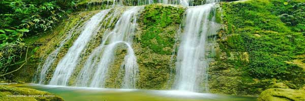 Most adventurous Kabantian best hidden waterfalls loon bohol philippines 2018