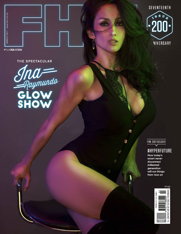 Ina Raymundo FHM March 2017 cover