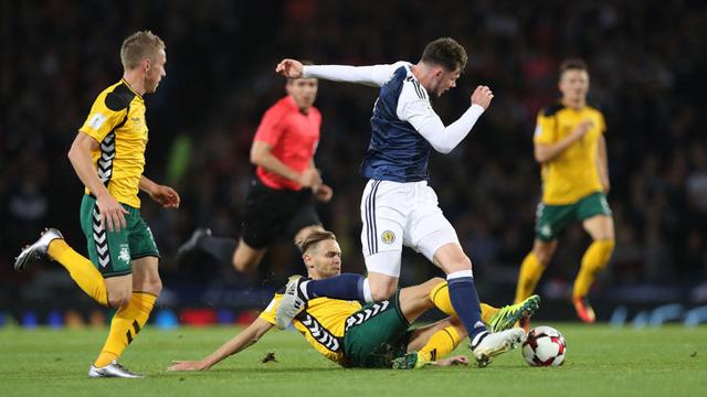 [Video] Cuplikan Gol Skotlandia 1-1 Lithuania (Kualifikasi Piala Dunia 2018)
