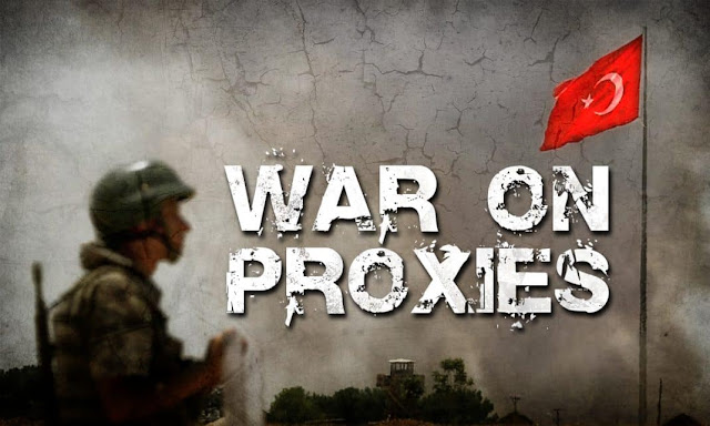 Turkey army fighting against own proxies in syria