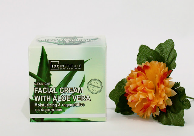 IDC Institute crema facial con Aloe Vera