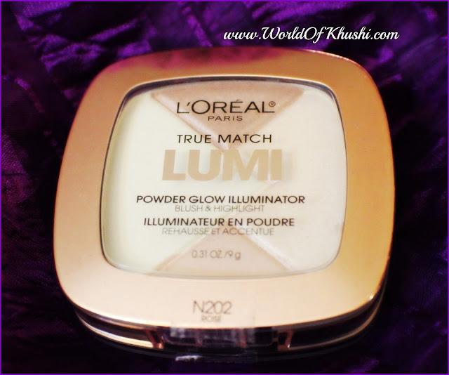LorealParisGlowIlluminatorRose_KhushiWorld_Review