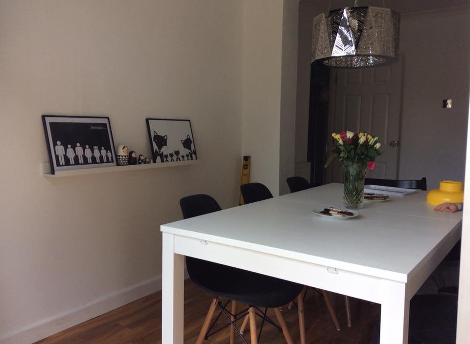 Mum Of Five Staying Sane Our Dining Room Makeover Is