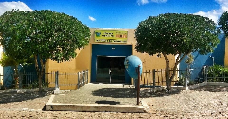 Resultado de imagem para camara municipal sao paulo do potengi
