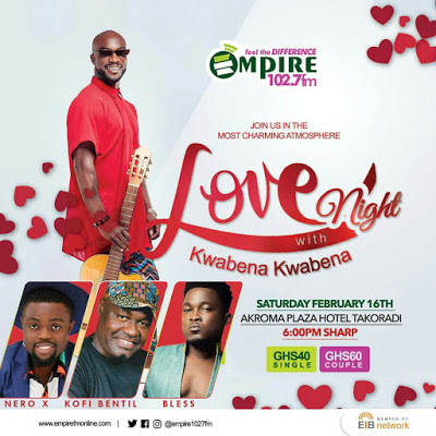 Love Night: A Kwabena Kwabena & Empire 'Romance'